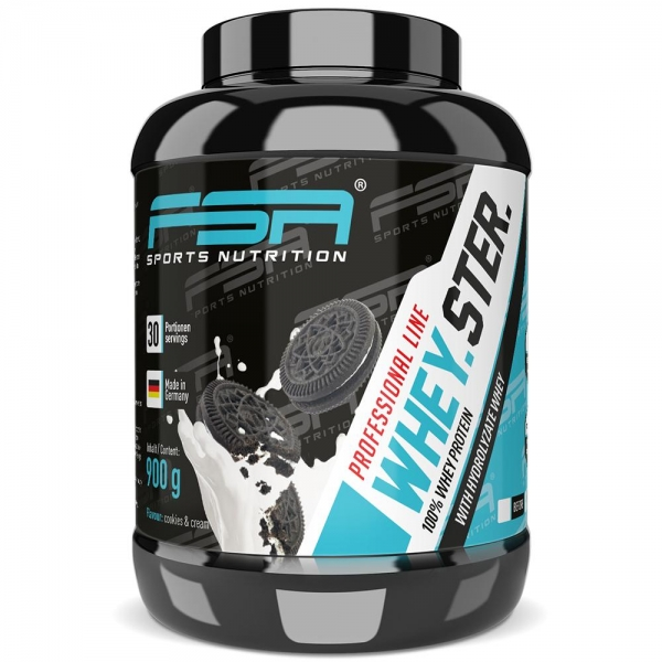 Whey Protein Cookies & Cream